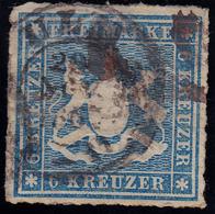 Altendeutschland / Württemberg Mi.Nr:32 A  Gestempelt - Wurtemberg