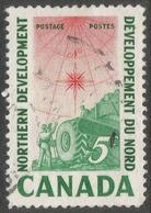 Canada. 1961 Northern Development. 5c Used. SG 517 - 1952-.... Reign Of Elizabeth II