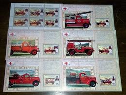 Lot 9 - DESTOCKAGE ! - Camions De Pompiers Fire Fighters Fire Trucks - Sapeurs-Pompiers
