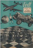 SCOUTISME - 2 Numéros De L'EDF (Eclaireur De France) - Janvier - Février 1948 - Scouting