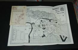 Ancien Plan Dépliant Annemasse Suisse - Dépliants Touristiques