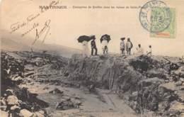 Martinique - Saint Pierre / 08 - Entreprise De Fouilles - Belle Oblitération - Autres