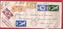 Env REC De Nouméa -  Intendance Des Troupes Coloniales Du Groupe Pacifique  -  27 Aout 1946 - Nouvelle-Calédonie