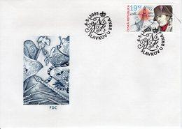CZECH REPUBLIC  -  2005 The 200th Anniversary Of The Battle Of Austerlitz  FDC5813 - FDC