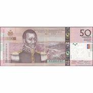 TWN - HAITI 274f - 50 Gourdes 2016 200th Ann. Of Independence - Hybrid Substrate - Prefix Y UNC - Haiti