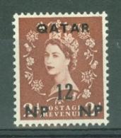 Qatar: 1957/59   QE II    SG5   12n.p. On 2d    MH - Qatar