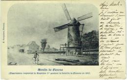 Fleurus. Moulin De Fleurus. Observatoire Improvisé De Napoléon Ier Pendant La Bataille De Fleurus En 1815) - Fleurus