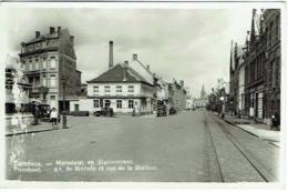 Turnhout. Merodelei En Statiestraat. Av. De Merode Et Rue De La Station. - Turnhout