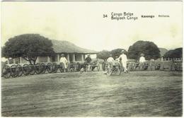 Congo Belge. Kasongo. Artillerie - Congo - Brazzaville