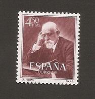 España 1952 NEW Yvert 833 - 1931-Hoy: 2ª República - ... Juan Carlos I