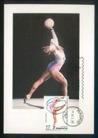 TP Max. Rodillo *Madrid 9 Octubre 1985. Primer Día De Circulación* Lote De 2 Diferentes. - Gimnasia