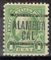 USA Precancel Vorausentwertung Preo, Locals California, Alameda 632-204 - Etats-Unis