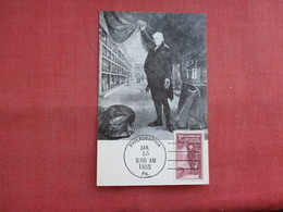 Maximum  Card First Day Of Issue 1955  The Artist In The Museum   Ref 3122 - Museum