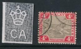 MALAYA, 1900 4c Grey-brown Very Fine, SG17b, Cat £6 - Federated Malay States