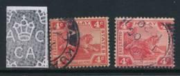 MALAYA, 1904 4c DieI+ Die II Very Fine, SG37,38 - Federated Malay States