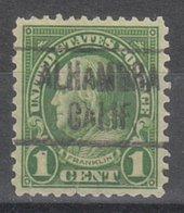 USA Precancel Vorausentwertung Preo, Locals California, Alhambra 632-466, Below Small Tear - Etats-Unis