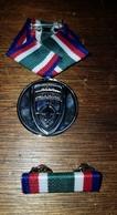 Rare Medaille De La Marche Dancon KFOR OTAN KOSOVO - France