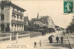 Lot 2 CPA 17 Charente Maritime Royan Côte D'Argent Boulevard Saint St Georges + Entrée De L'Oasis - Royan