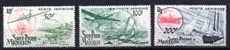 Serie Nº A-18/20 Saint Pierre Et Miquelon - Aéreo