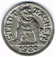 Allemagne - Nécessité - AACHEN 10 Pf 1920 - Monétaires/De Nécessité