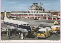 CPM - JERSEY - AEROPORT - Edition J.Hinde - Aerodrome