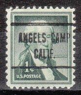 USA Precancel Vorausentwertung Preo, Locals California, Angels Camp 723 - Etats-Unis