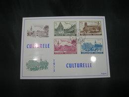 "BELG.1973 1662-1665 - FDC Filatelie Card  Gent ""Culture : Abdijen/Abbeys Gent Heverlee Floreffe Lobbes "" - 1971-80"