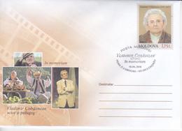 2018 , Moldova  Moldavie  Moldawien  , V.Cobasnean , Theater , Cinema , Actor  , National Costum  , Pre-paid Envelope - Moldova