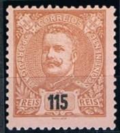Portugal, 1898/905, # 145, MH - 1892-1898 : D.Carlos I