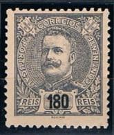 Portugal, 1898/905, # 147, MH - 1892-1898 : D.Carlos I