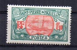 Sello Nº 117a  Saint Pierre Et Miquelon - St.Pedro Y Miquelon