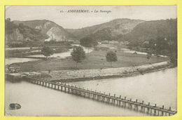 * Anseremme (Dinant - Namur - La Wallonie) * (Henri Georges, Nr 21) Les Barrages, Canal, Quai, Train, Zug, Trein - Dinant