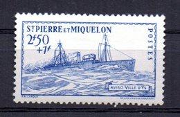 Sello Nº 208  Saint Pierre Et Miquelon - Nuevos