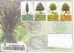 Moldova , Moldavie , Moldawien , Moldau , Trees , 2018 , Privat FDC - Moldova