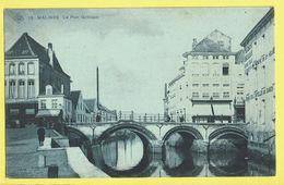 * Mechelen - Malines (Antwerpen) * (SBP, Nr 15) Le Pont Gothique, Bridge, Brug, Canal, Quai, Unique, TOP, Rare - Mechelen