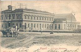 (C).Napoli.Stazione Marittima.F.to Piccolo.Viaggiata (c17) - Napoli