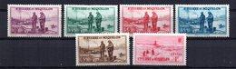 Sellos Nº 175/9 +181  Saint Pierre Et Miquelon - St.Pedro Y Miquelon