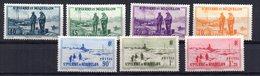 Sellos Nº 196/202  Saint Pierre Et Miquelon - St.Pedro Y Miquelon