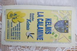 Große Strassenkarte GEMEINDE KELMIS, LA CALAMINE Von 2002 - Cartes Routières