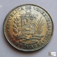 Venezuela - 2 Bolívares - 1967 - Venezuela