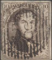 Belgique 1851 COB 6A. 10 C. Médaillon. D58 Waterloo. Superbe - Postmarks - Lines: Distributions