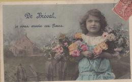 Bréval : De Bréval, Je Vous Envoie Ces Fleurs - Francia