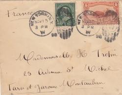 LETTRE. COVER. US TO FRANCE. 1898. NEW YORK TO MONTAUBAN. BUFFALO  /  2 - Non Classés