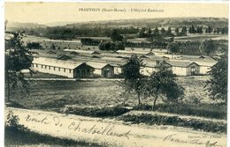 PRAUTHOY L'hopital Américain, Route De Chatoillenot, Baraques US - Prauthoy