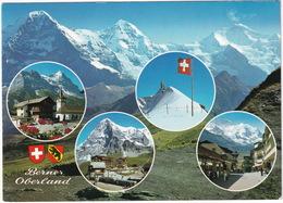 Berner Oberland - Grindelwald, Kleine Scheidegg, Jungfraujoch, Wengen   - (CH.) - Stations - Met Treinen