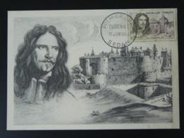 Carte Maximum Card Maréchal Turenne Chateau De Sedan 08 Ardennes 1960 (ex 2) - Castillos