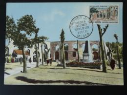 Carte Maximum Card Portes De Lodi Medea Algerie 1961 - Cartoline Maximum