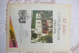 10 Jahre Göhltal-Museum 1984-1994, Kelmis, Sonderbeilage GE - Revues & Journaux