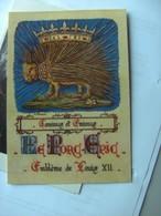Emblème De Louis XII Avec Pour Devise Cominus Et Eminus Le Porc Epic - Postkaarten