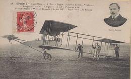 Buc : Sports - Aviation - A Buc - Biplan Maurice Farman-Neubauer - Buc